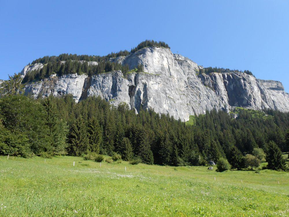 Klettersteig Flimserstein : Flimserstein mittwoch