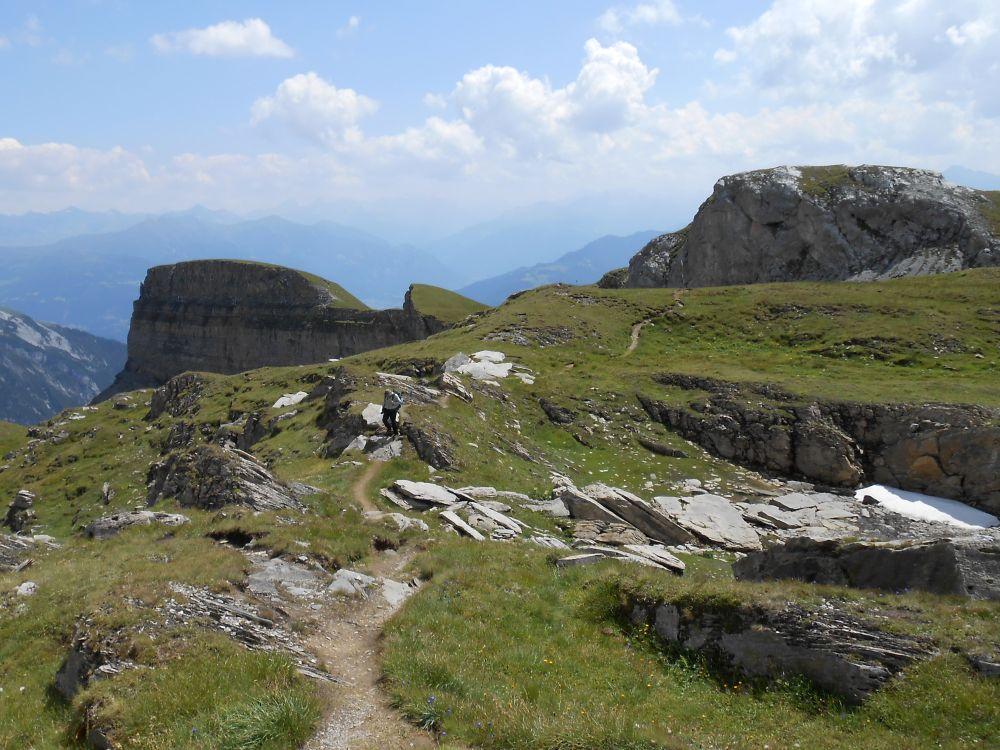 Klettersteig Flimserstein : Klettersteig sulzfluh st antönien